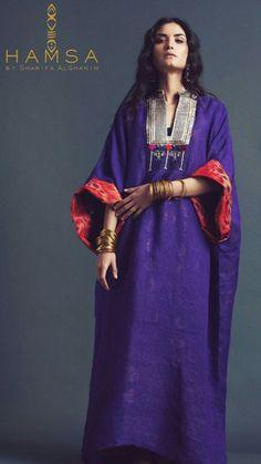 Abaya Fashion, Vogue Fashion, Ethnic Fashion, African Fashion Dresses, Fashion Outfits, Night Gown Dress, Mode Kimono, Denim Maxi Dress, Kaftan Style
