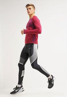 Nike Performance Tights - black/white/reflective silver für 124,95 € (27.02.16) versandkostenfrei bei Zalando bestellen.