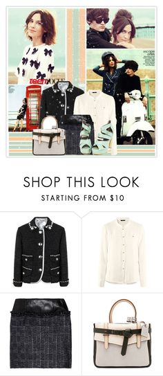 """""""Alexa Chung"""" by ichangemyname ❤ liked on Polyvore featuring McGinn, Marc Jacobs, H&M, Theyskens' Theory, Reed Krakoff, alexa chung and teen vogue"""