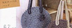 Bolsa en crochet redonda Nidia (Patrón) Purses And Bags, Diy And Crafts, Tote Bag, Santa, Textiles, Blog, Decor, Fashion, Cowl