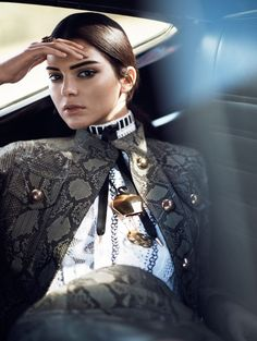 Vogue Editorial January 2015 - Kendall Jenner by David Sims