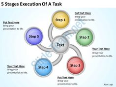 business process workflow diagram of task powerpoint templates ppt, Presentation templates