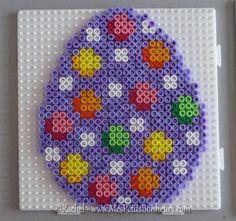 Easter Egg hama perler beads