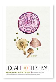 Local Food Festival : Hana Yoo Food Truck Festival, Beer Festival, Event Branding, Sustainable Food, Festival Posters, Photoshop, Typography Poster, Food Illustrations, Food Design