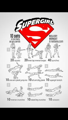 When you haven't watched Supergirl yet even when the Flash x Supergirl crossover came out and you still have to workout.