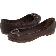 Frye Carson Harness Balley flats, $148, also in black