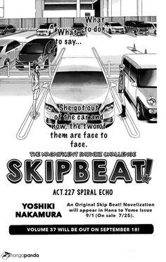 Skip Beat! chapter 227 O-O