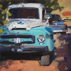 Carol Marine Gallery of Original Fine Art Meaningful Paintings, Paintings I Love, Awesome Paintings, Car Painting, Knife Painting, Daily Painters, Painting Lessons, Illustrations, Love Art