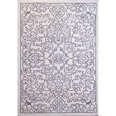 Ramapo Ivory-Grey Area Rug