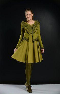 #Crea #Clothing #Green #Autumn