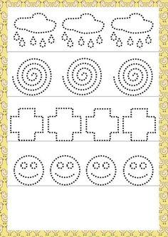 Tracing Worksheets, Kindergarten Worksheets, Worksheets For Kids, Pre Writing, Writing Skills, Pre K Activities, Preschool Activities, Alphabet Writing Practice, Tracing Sheets