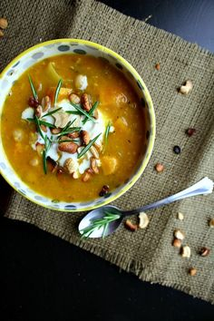 Scarborough FoodFair: Sweet Potato Soup with Buttered Cashews