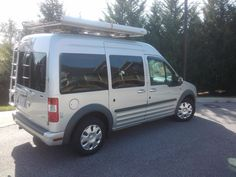 micro camper transit connect, nv200 conversion package on your vehicle