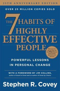 CONSIDERED ONE OF THE MOST INSPIRING BOOKS EVER WRITTEN, The 7 Habits of Highly Effective People has guided generations of readers for the last 25 years. Presidents and CEOs have kept it by their beds