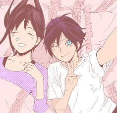 """Guess where I am!"" Hahaha ノラガミ / noragami"