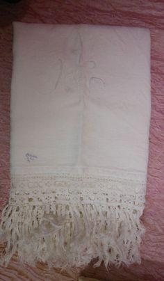Asciugamani cotone bianco quadrettato A.  (4) Cotton Towel Serviette B11