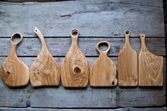 hand crafted ash wood serving boards