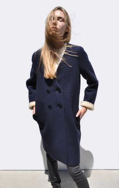 Anaïse | Hache Wool Coat