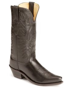 Old West fashion cowgirl boots; Simple!