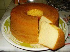 Receita de Bolo pão de ló