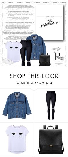 """""""Troye Sivan inspired outfit"""" by fashionidea5 ❤ liked on Polyvore featuring Monki, WithChic, Chicnova Fashion and adidas"""