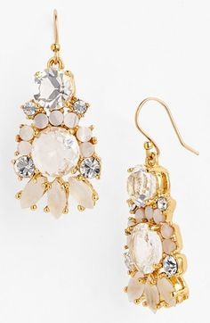 kate spade new york 'grande bouquet' mixed stone earrings available at #Nordstrom
