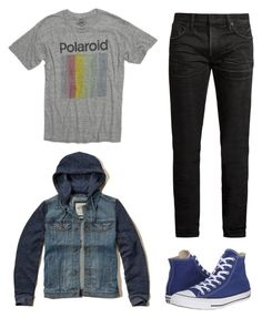 Festa 5 by wishmemuke on Polyvore featuring MasterCraft Union, Hollister Co., Converse, men's fashion and menswear