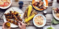 Cookout Menus for Summer Holidays and Events