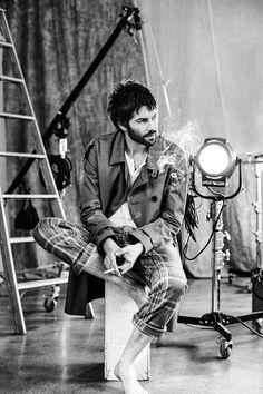 Jim Sturgess by Matt Licari Beatles Songs, The Beatles, Rogue Magazine, Thank You For Smoking, Jim Sturgess, Man Smoking, Across The Universe, Independent Films, Amor