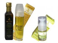 Marocký arganový a opunciový olej set Argan Oil, Vodka Bottle, Shampoo, Personal Care, Beauty, Oil, Self Care, Personal Hygiene, Beauty Illustration