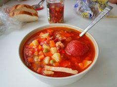 Суп с беконом - быстрый в приготовлении
