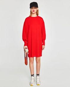 Imagine 1 din ROCHIE OVERSIZE CU DUNGI ACIFORME de pe Zara