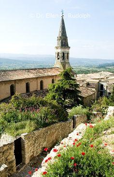 Luberon, Provence, France | Dr. Ellen K. Rudolph