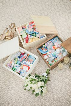 Photography Credit:onelove photography Wedding Emergency Kit:Weddbox