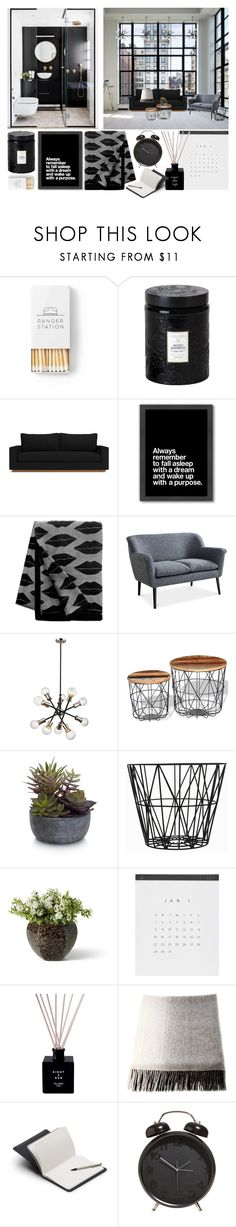 """With Purpose, On Purpose"" by cherieaustin on Polyvore featuring Donna Karan, Voluspa, Americanflat, Kelly Wearstler, Elements, ferm LIVING, Quinn and Bellroy"