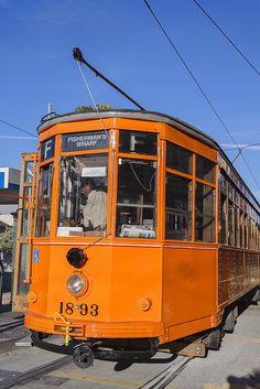 F line trolley streetcar, San Francisco, California, United States of America, North America