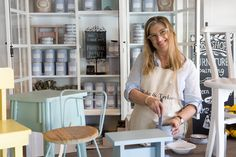 Join the fun in one of our chalk paint workshops.  Book online.  Ellie B&Txx