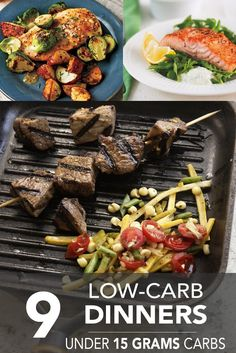 Looking for new recipes for your low-carb weeknight dinners? Check out our selection of low-carbmains for some inspiration. We're featuring some mouthwatering meat and vegetarian dishes to help you on your low-carb journey—all under 15 grams of carbs per serving! MEAT DISHES 1. Chicken and Brussels Sprouts with Mustard Sauce|Cooking Light This zesty mustard saucedresses …
