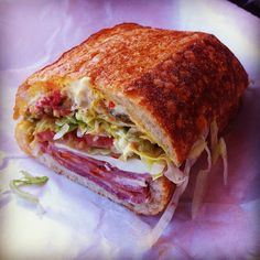 Bay Cities Italian Deli & Bakery in Santa Monica, CA: If you're craving an authentic Italian sub, this is the only place to get it in LA.