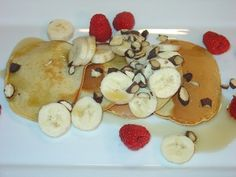 Peanut Butter Pancakes #recipe from WLUK FOX 11 Living with Amy Hanten. #recipes
