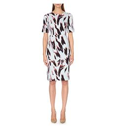 Expertly crafted, this jersey dress from Paul Smith Black is an easy take on their signature tailoring. The painterly print boosts the contemporary appeal of this form-fitting silhouette. Paul Smith, Dresses For Work, Black, Wedding, Fashion, Valentines Day Weddings, Moda, Black People, La Mode