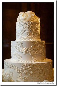 amazing and elegance wedding cake