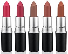 новые матовые помады MAC The Matte Lip Collection 2015