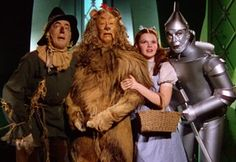the wizard of oz. in the 70s they used to show this every year at holiday time when i was a kid.  photo from metrokids.com