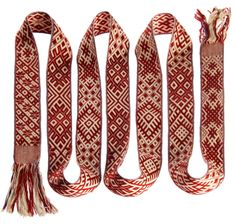 Latvian belt. I actually know how to do this. And do it well.
