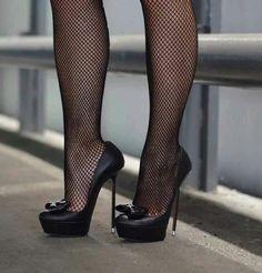I need these!! #blackhighheelsstockings #platformhighheelsblack