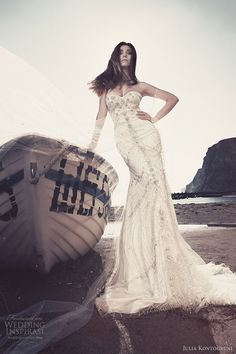 julia kontogruni bridal 2013 strapless wedding dresses