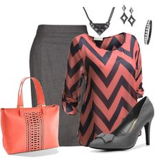 """>> Fashionable """"Plus Measurement Work Outfit"""" by penny-martin on Polyvore..."""