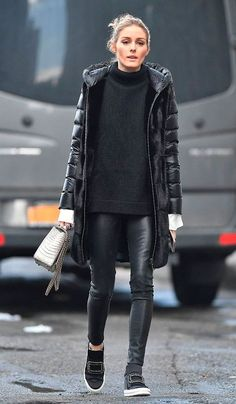 The outfit that every NYC girl should try, says Olivia Palermo - Cat . - The outfit every NYC girl should try, says Olivia Palermo – Cate – - Fall Winter Outfits, Autumn Winter Fashion, Casual Winter, Spring Fashion, Winter Dresses, Winter Wear, Mode Outfits, Fashion Outfits, Trendy Outfits