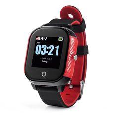 KidSafe Smart piros-fekete gyerek okosóra, IP67 vízálló, 3 pontos helymeghatározási rendszer, SOS gomb, színes érintő kijelző.  #gyerekokosóra #KidSafe #Smart #Malbini #akció #webáruház Online Shopping Mall, Malm, Instagram Shop, Smartwatch, Apple Watch, Display, Watches, Nike, Fashion